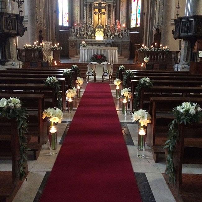 Tavoli Imperiali Matrimoni civili fiorista Milano