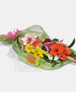 Mazzo Di Fiori Lungo.Bouquet Di Tulipani Fiorista Tonino